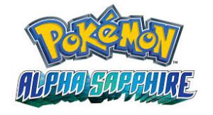Pokemon Alpha Sapphire Title